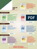 Catalogo de Preços Atual - Camun limp