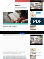 Texto Narrativo_ Estructura, Narrador y Características