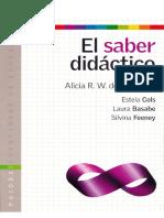 Camilloni, A. El Saber Didactico. (1)