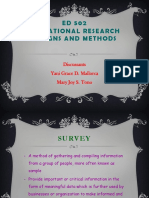 MALLORCA AND TONO ED 502 ( Educational Research Designs and Methods).pptx
