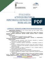I.P.J. SUCEAVA - Evaluare Activitate 2018