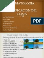 Clasificacion Del Clima