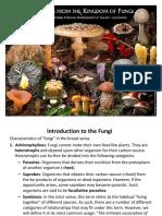 Fungi Teaching Material