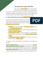 Marco Referencial de Las Normas ISO 9000 Uni 2412019