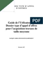 Guide Le l Utilisateur Pour DTAO Travaux de Taille Moyenne - Decembre 2017 (1)