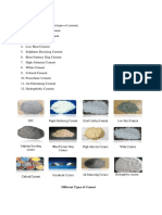Cement Types