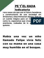 Cuento (Felipe y El Hada)