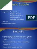 Ernesto Sabato Trabajo Lenguaje 2.0