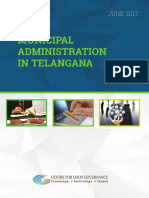 Municipal Administration in Telangana With Title