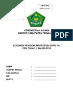 SYARAT CHECKLIST BERKAS PPG II 2019.docx