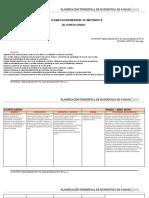 Planificacion Mensual de 4to - Matematica 2019