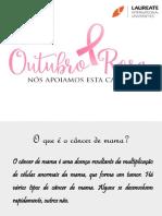 Palestra Outubro Rosa - Dra. Nadia