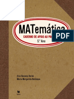 Caderno Apoio Professor Matemática