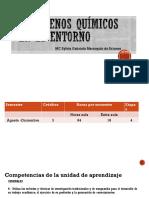 Fenómenos Químicos en El Entorno