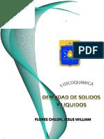 Densidad de Solidos FisicoquimicaV 1