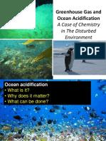 Kuliah Kimia Lingkungan -Ocean Acidification
