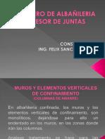 PPT MORTERO DE ALBAÑILERIA Y ESPESOR DE JUNTAS