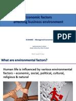 5. Economic Environment
