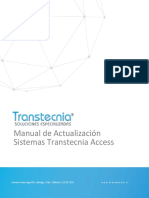 Manual Actualizacion Sistemas Transtecnia Access