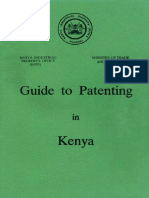 Guide to Patenting in Kenya