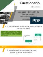 Cuestionario Ingenieria en Administracion Publica VI Semestre 2019