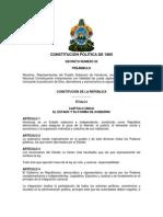 Constitución de la República de Honduras 1965