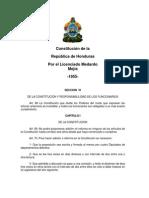 Constitución de la República de Honduras 1955