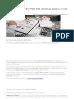 ISO 19011 Comparativo 2011 vs 2018