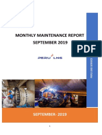 Monthly Maintenance Report Confipetrol - September 2019 R0