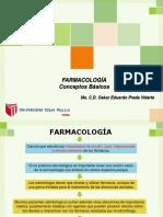 1. Farmacología Conceptos Generales Formas Farmacéuticas