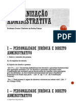 Ufrn - A Organizao Administrativa (direito administrativo)