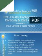 DNS Cluster Configuration