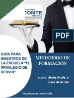 Guia Metodologica Para Maestros El Privilegio de Servir