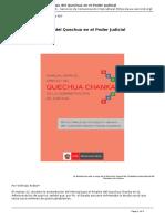 Quechua Chanca