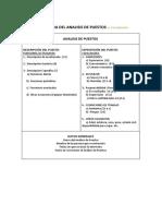 estructura de analisis de opuestos