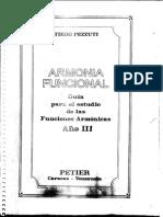 Armonía Funcional (Año III) - Tiero Pezzuti