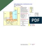1 Calculo Estructural Bocatoma - Muro Divisorio