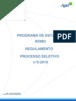 Estágio BDMG 2/2019