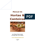 Manual de Hortas Canteiros