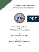 Izhar Shah Report