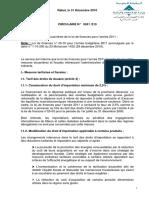 Dispositions douanières de la loi de finances pour l'année 2011
