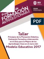 03 Principios de Planeación Didáctica Evaluación Formativa e Intervención en El Aula de Los Aprendizajes Clave