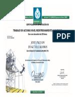 Certificado de Alturas 2019