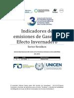 1. Indicadores de Emisiones Residuos
