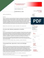 Los Jóvenes Hoy_ Enfoques, Problemáticas y Retos _ Fandiño Parra _ Revista Iberoamericana de Educación Superior