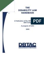 Disability Law Handbook Dbtac Sw