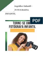 Ensaio Fotográfico Infantil - EBook de FOTOGRAFIA INFANTIL