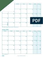 Es - Planificación Mensual Curso 2019-2020 - DIN A4 (210x297 Mm) FINOCAM DOCENTE