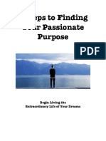 5 Steps to Finding Your Purpose 12 Font