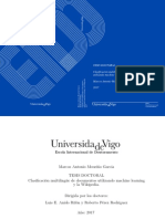 Clasificación Multilingüe de Documentos Utilizando Machine Learning y La Wikipedia [Tesis Doctoral]